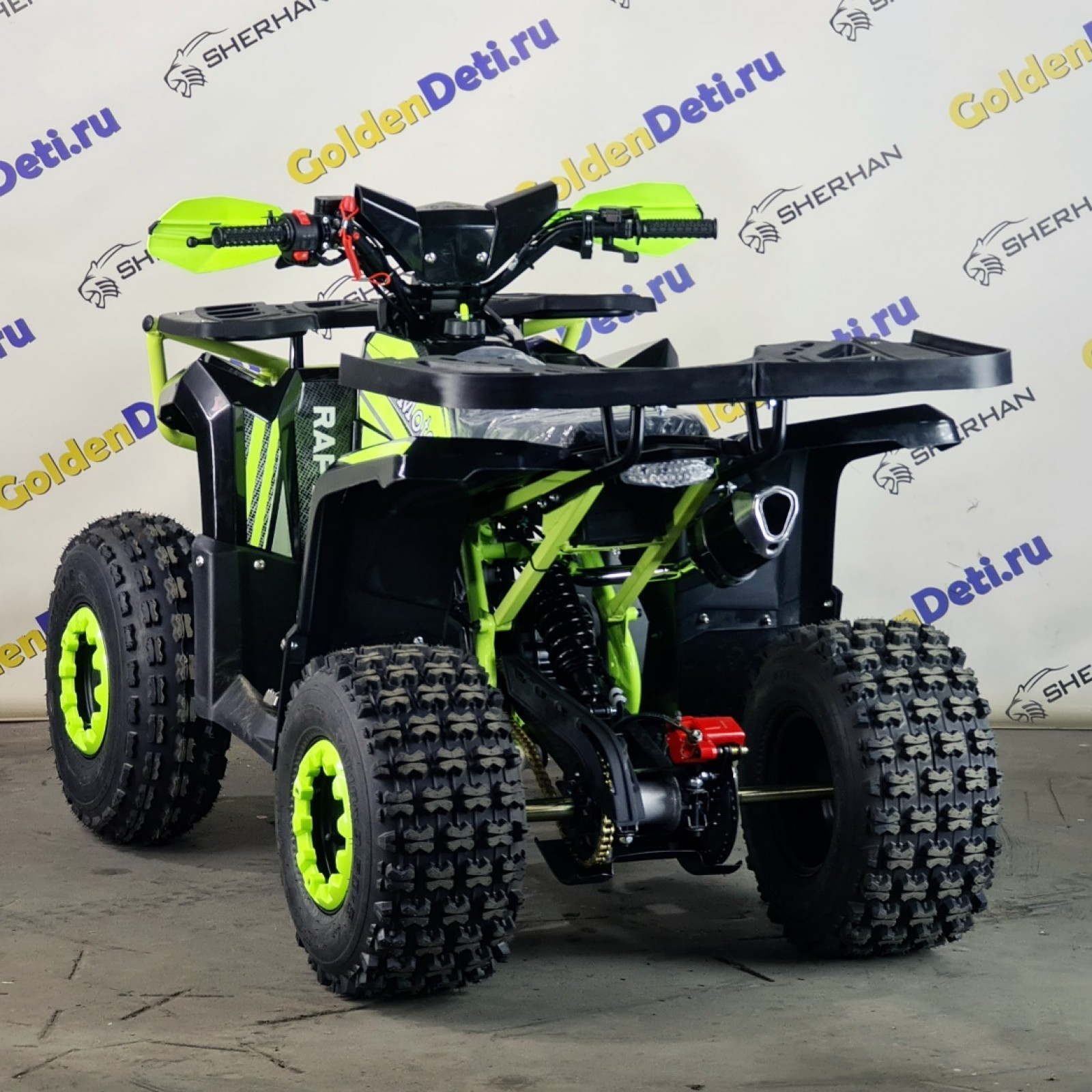 Квадроцикл MotoLand 125 RAPTOR NEW