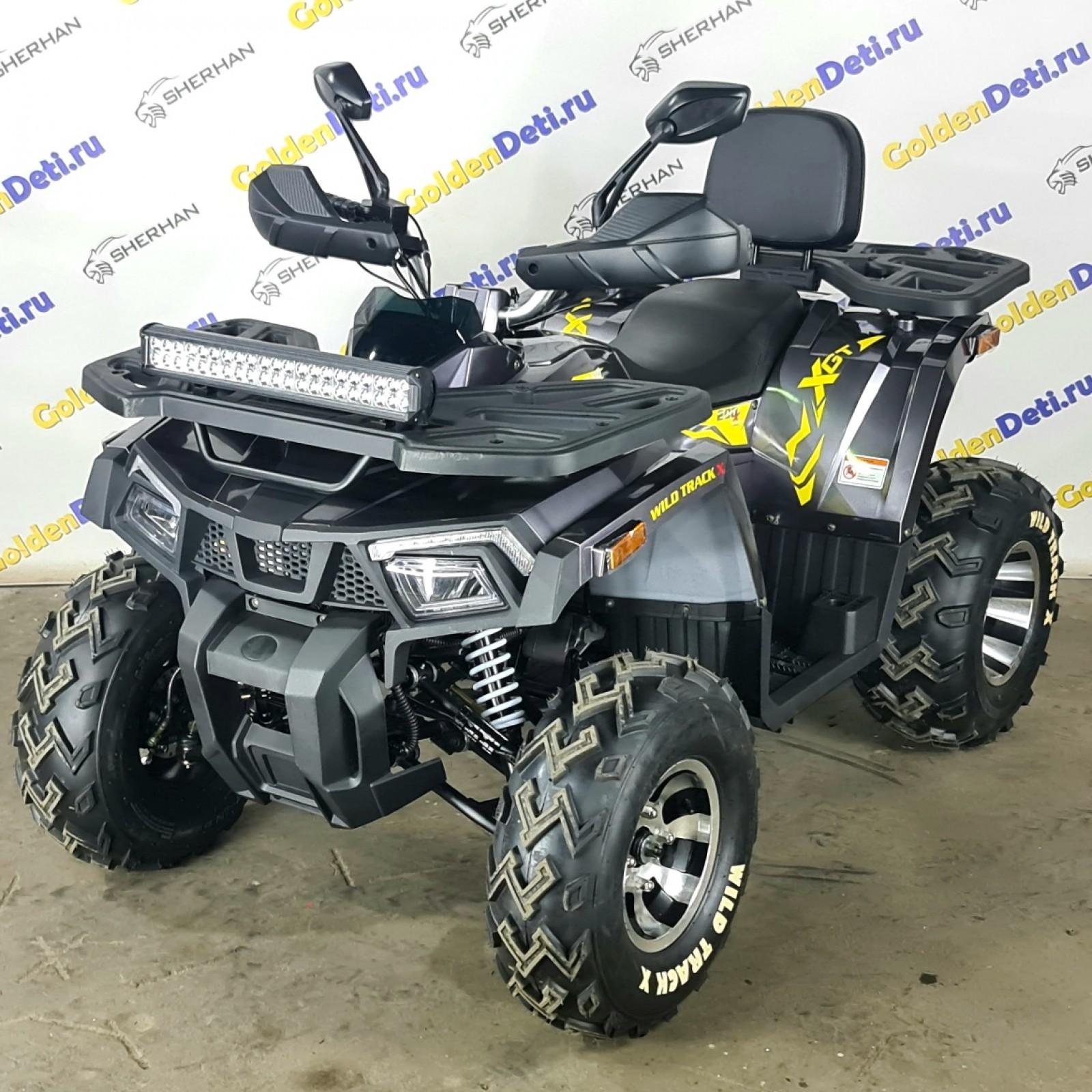Квадроцикл MotoLand 200 WILD TRACK X PRO 2021 года