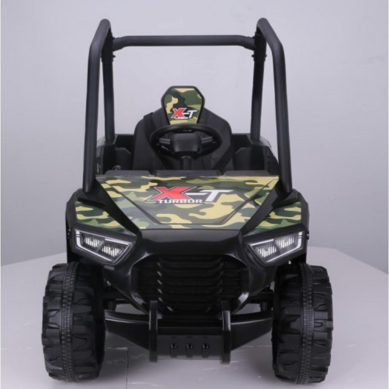 Детский электромобиль BUGGY T333TT-CAMOUFLAGE (4x4)