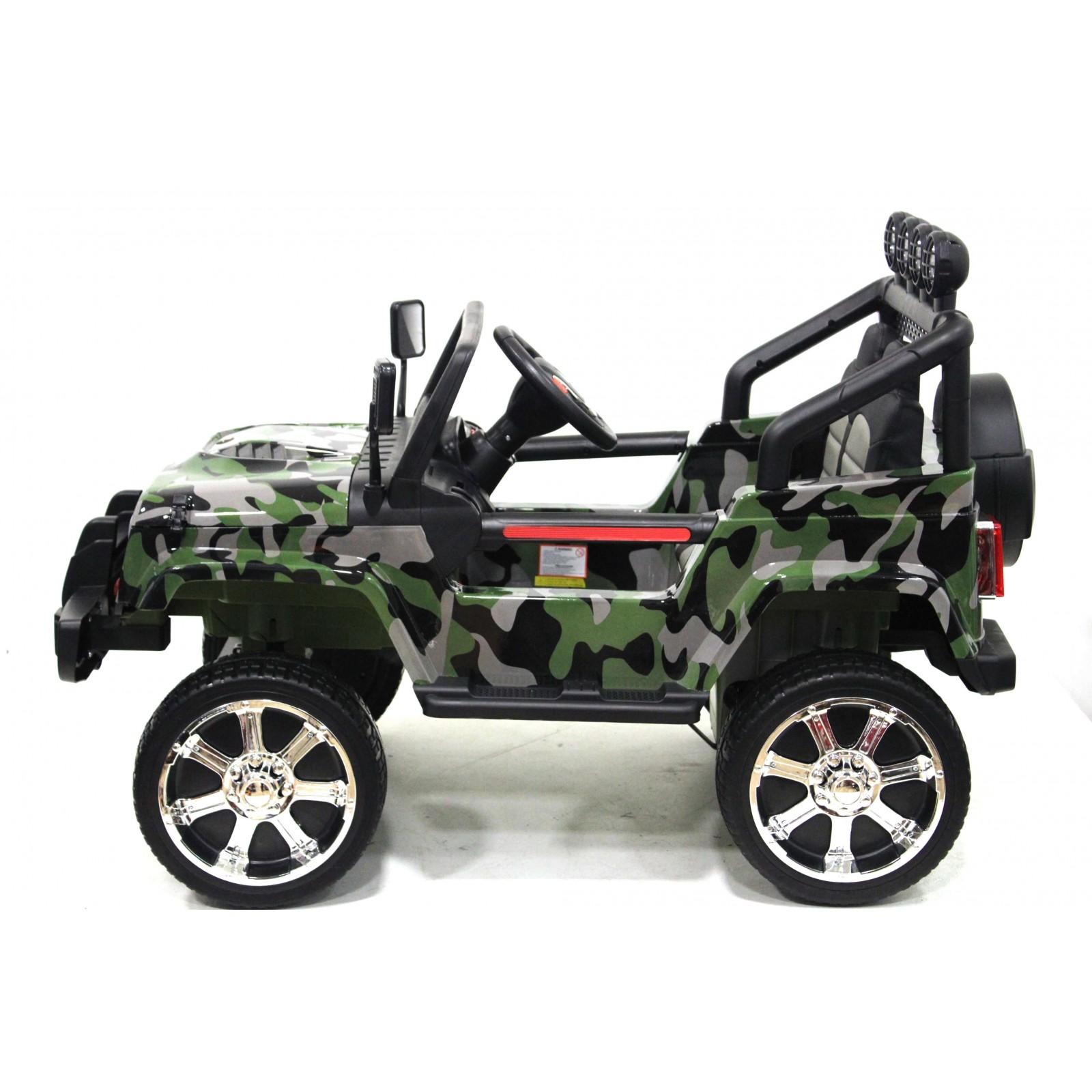 Детский электромобиль Jeep 4x4 (T008TT)