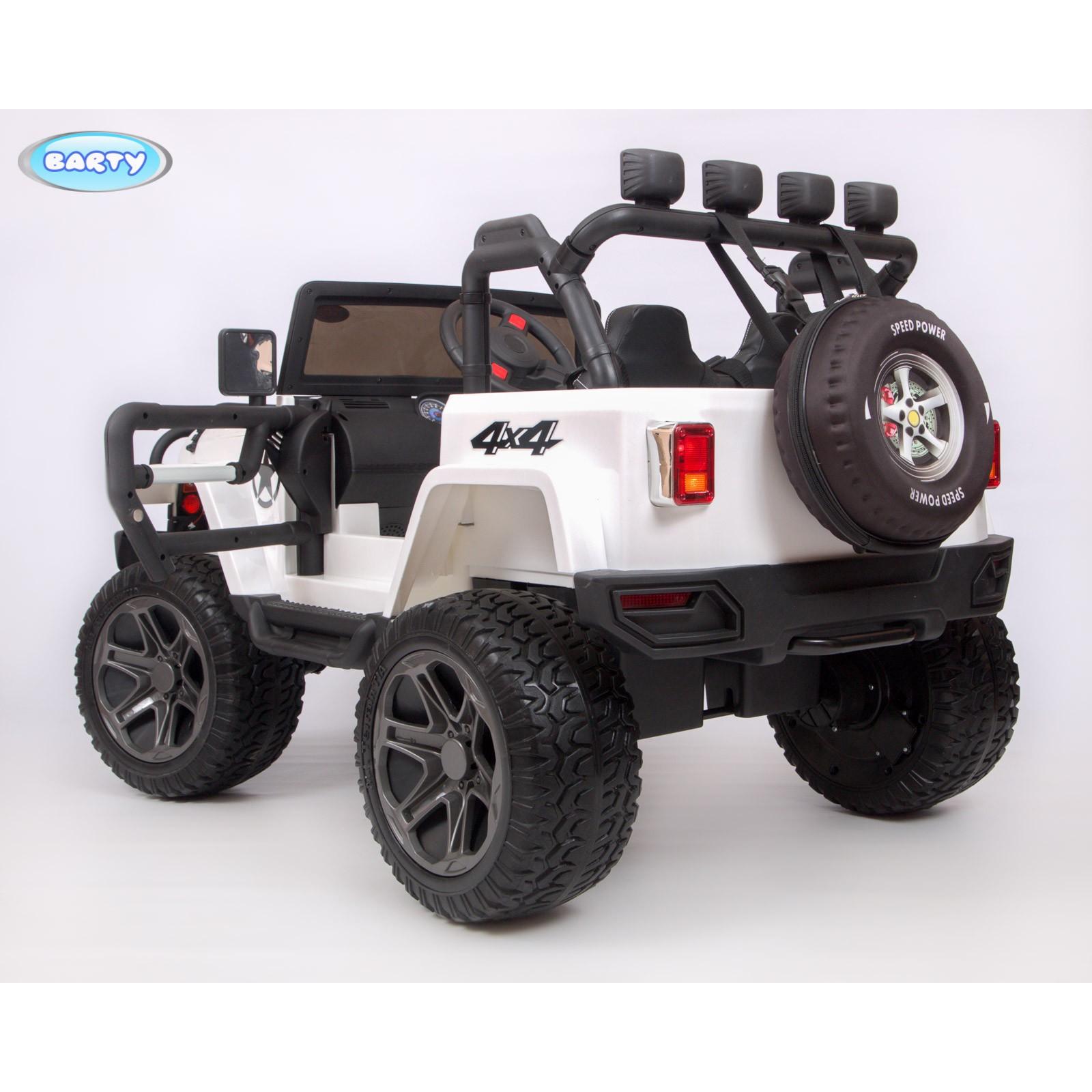 Детский электромобиль BARTY Jeep Т555МР 4x4