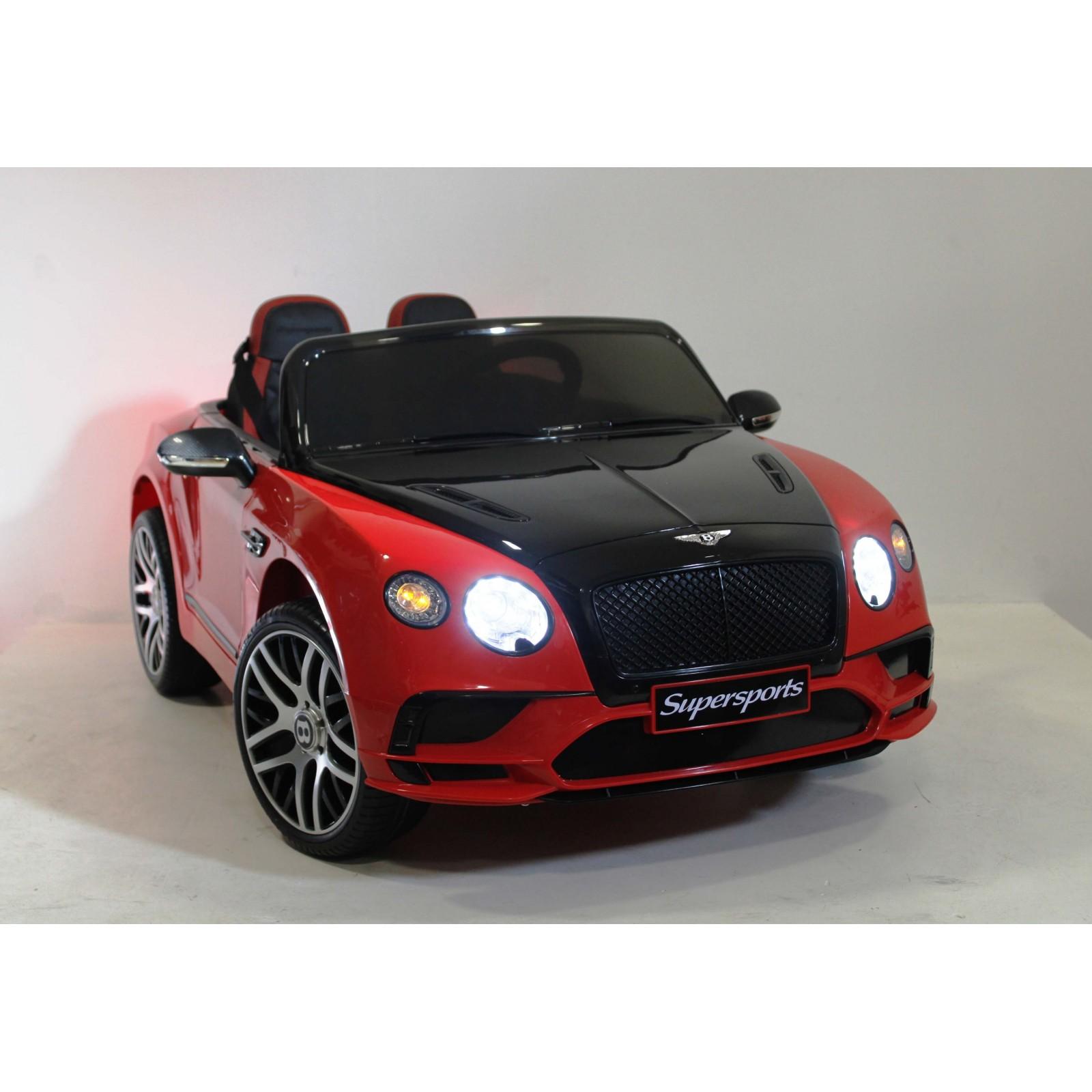 Детский электромобиль Bentley Continental Supersports (JE1155)