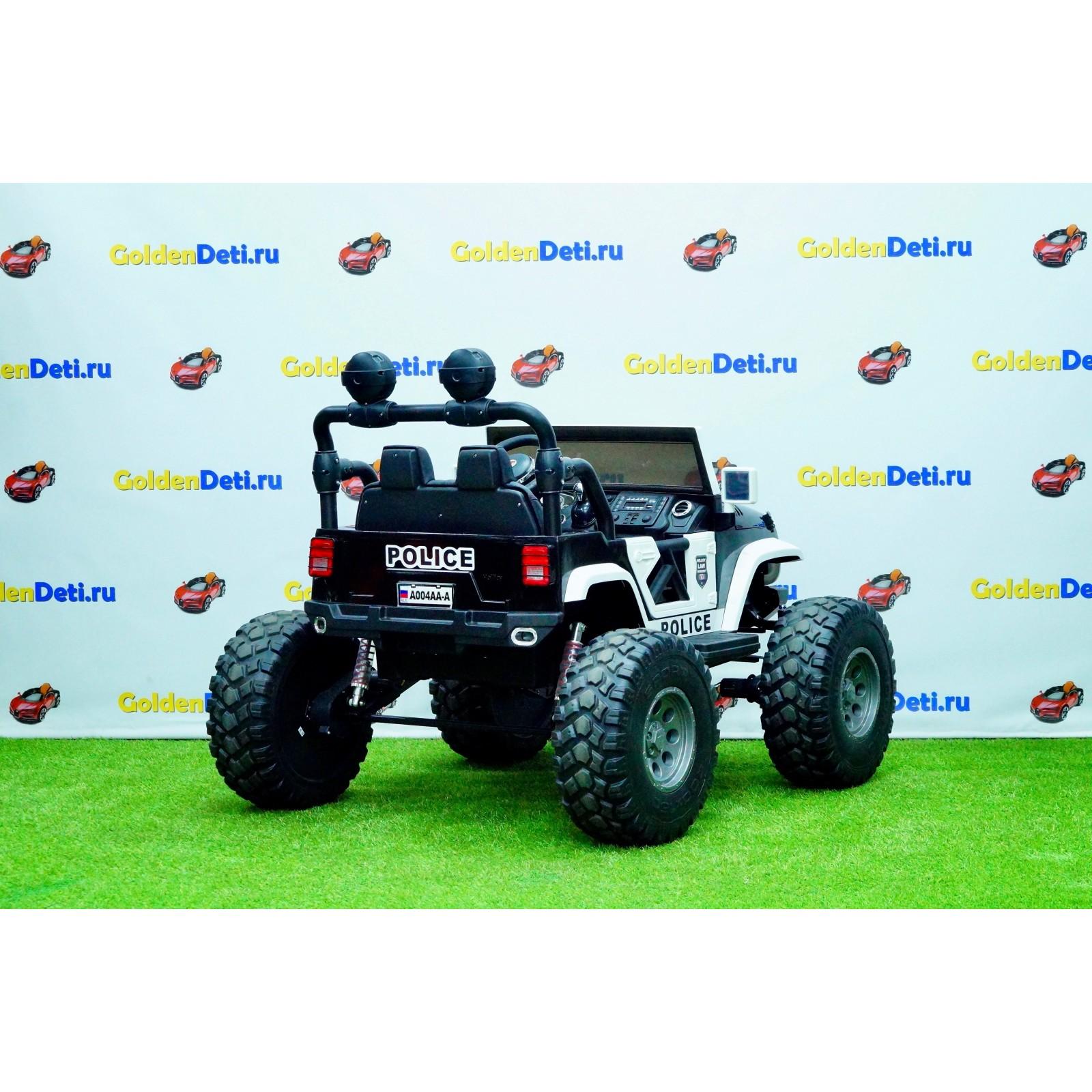Детский электромобиль Jeep A004AA-A Police