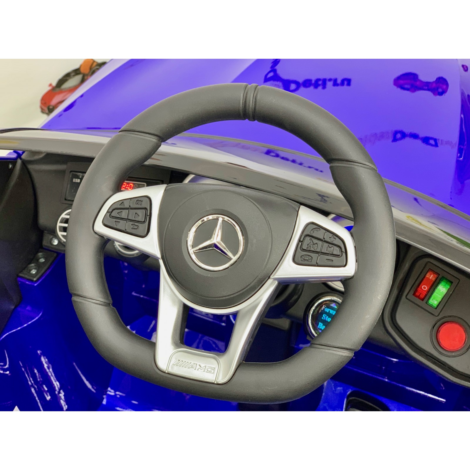 Детский электромобиль Mercedes-Benz AMG GLC 63 Coupe 4X4