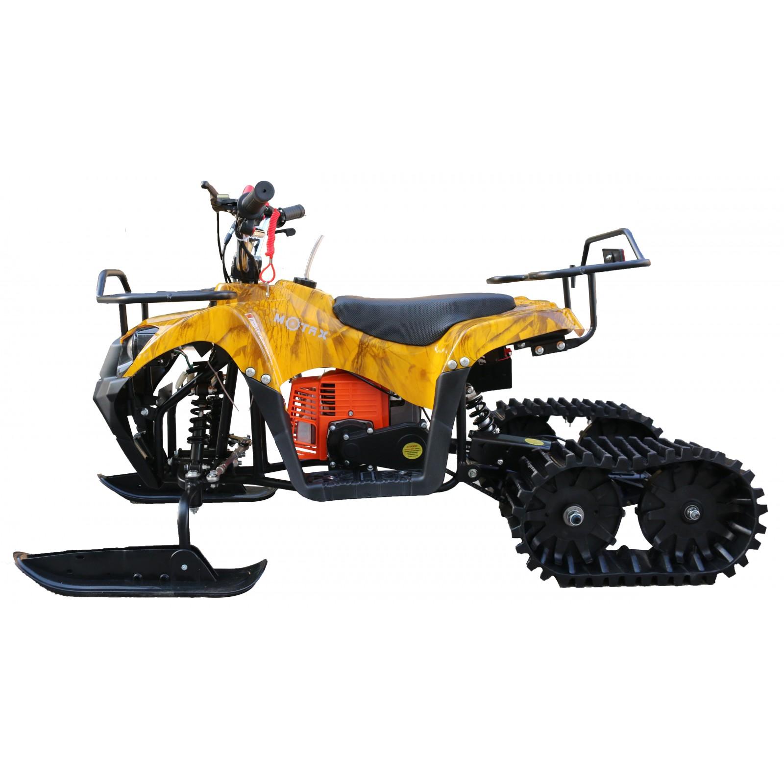 Снегоход-квадроцикл  MOTAX Mini-Grizlik Snow