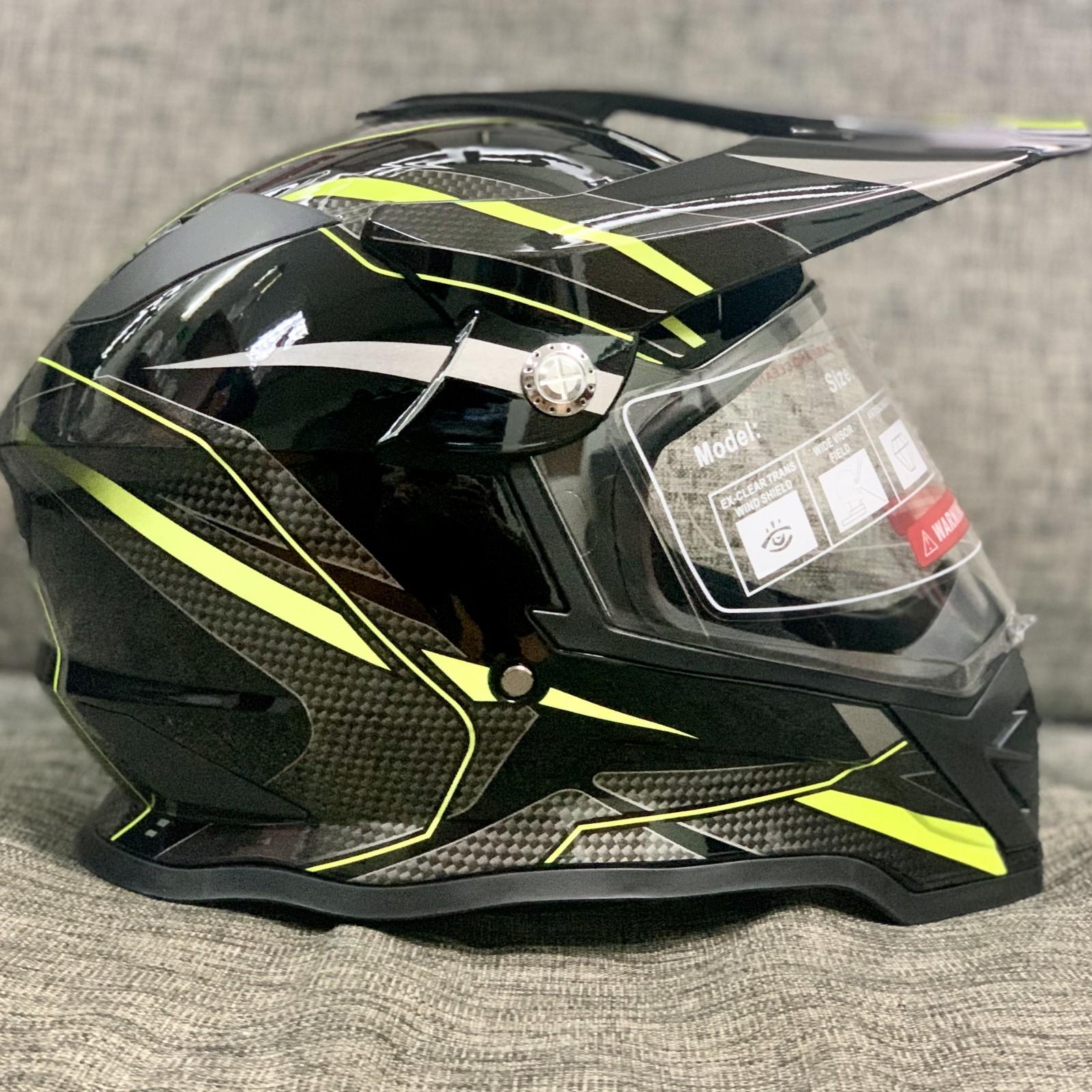 """Кроссовый шлем """"Hizer Pro Black"""""""